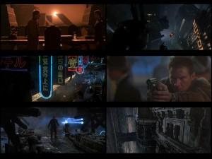 Scenes from Blade Runner