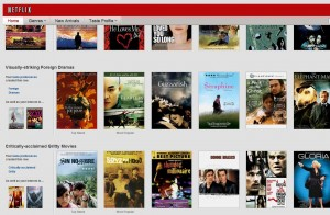 Netflix.com  Main Page