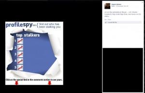 Photo of Facebook scam