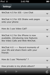 Photo of WeChat FAQ  3