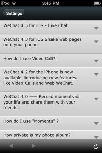 Photo of WeChat FAQ  3