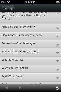 Photo of WeChat FAQ  5