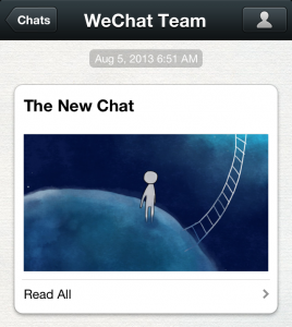 Photo of WeChat Version 5  5