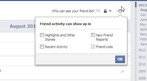 how to look at someones facebook activity