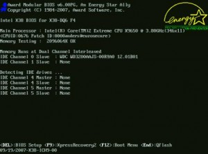 Photo of DOS Screen