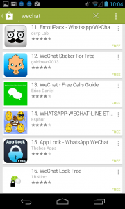 Photo of WeChat Virus    4