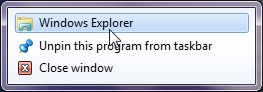 Photo of Windows Explorer    1