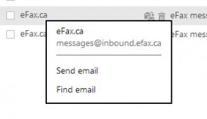 Photo of Efax Address of Origin