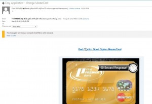 Photo of Example of Fraudulent Email  1