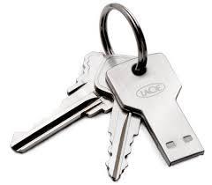 Photo of key flash drive.