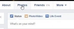 Photo of Facebook Photo word
