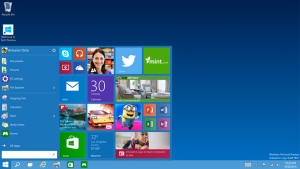 Photo of Windows 10 desktop
